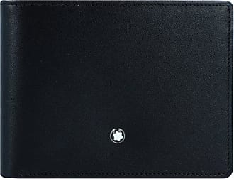Montblanc Meisterstück Portafoglio pelle 11 cm nero