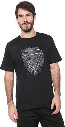 Wave Giant Camiseta WG Leaf Preta