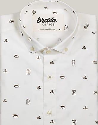 Brava Fabrics Roasted Morning Printed Long Sleeve Shirt