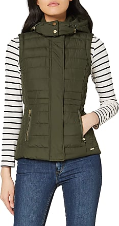 Joules Womens Padston Outdoot Gilet, Green (Everglade Everygld), 8 (Size:8)