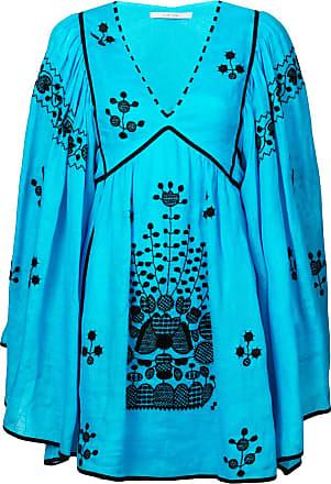 Vita Kin Vestido de linho - Azul