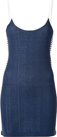 Nagnata Vestido com listras - Azul