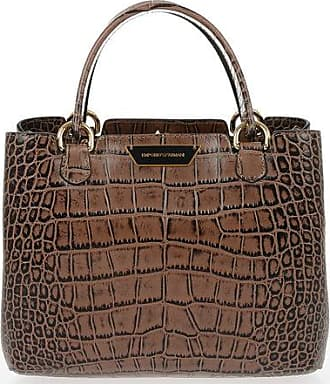 Armani EMPORIO Crocodile Printed Bag size Unica