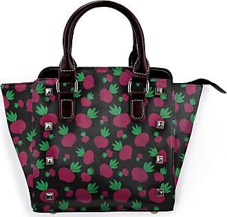 Browncin Personalized Vegetable Irregular Pattern Of Big And Little Radish Organic Food Detachable Fashion Trend Ladies Handbag Shoulder Bag Messenger Bags