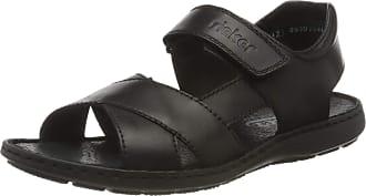 Rieker Mens Frühjahr/Sommer 28963 Closed Toe Sandals, Black Nero 00, 10.5 UK