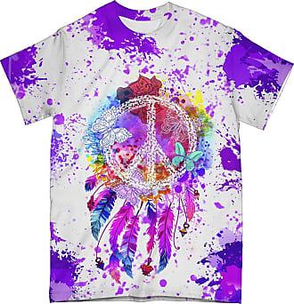 NA Peace Hippie Butterflies 3D Shirt