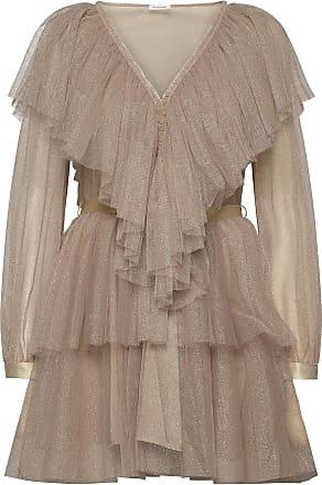 En klassisk klänning i skater modell med kort ärm, i härligt