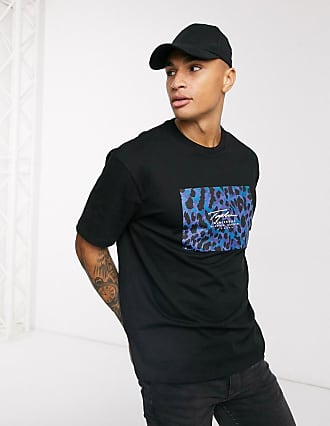 Topman Signature - T-Shirt in Schwarz