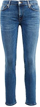 7 For All Mankind Jeans Pyper Crop Mittelblau