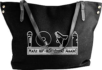 Juju Make Hip-Hop Great Again Womens Classic Shoulder Portable Big Tote Handbag Work Canvas Bags