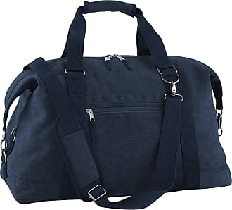 BagBase Bagbase Vintage Canvas Weekender/Holdall Carry Bag (30 Litres) (One Size) (Vintage Oxford Navy)