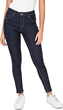 Only Calça Jeans Only Skinny Daisy Azul-Marinho