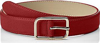 HUGO BOSS Women Zaira Belt 3 Cm-zl - Ceinture Femme - Rouge (Bright cdc95d7f763