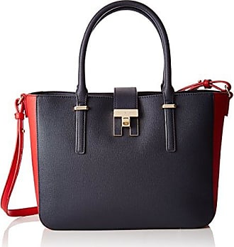 b314f76fa3 Tommy Hilfiger Th Heritage Tote, Sacs de plage femme, Multicolour (Tommy  Navy)
