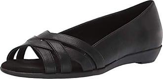 Aerosoles A2 Womens Fanatic Shoe, Black, 5.5 M US