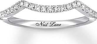 Neil Lane Diamond Wedding Band 1/5 ct tw 14K White Gold