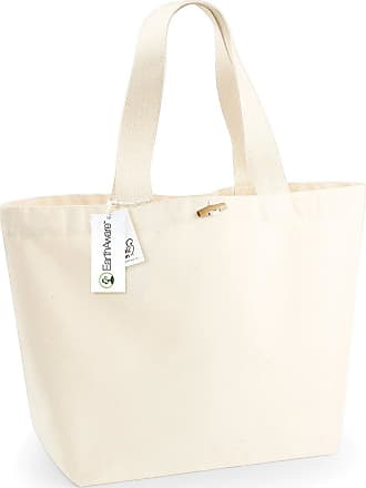 Westford Mill Organic XL Tote Bag (Pack of 2) (One Size) (Natural)