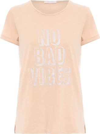 Yogini Camiseta No Bad Vibes - Laranja