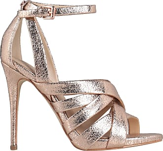 chaussure talon guess by marciano beige diamant bleu