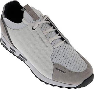 Emporio Armani Bivone Leather White Sneaker Trainer 11