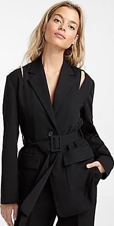 Icone Belted cold-shoulder jacket
