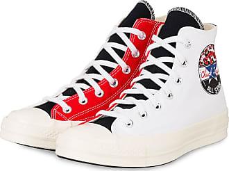 Converse Hightop-Sneaker CHUCK 70 TAYLOR ALL STAR - WEISS/ ROT