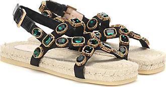Gucci Embellished espadrille sandals