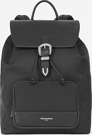 The Kooples Black backpack with western buckle - MEN