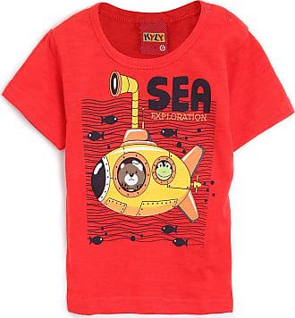 KYLY Camiseta Kyly Menino Náutica Vermelha