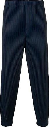 Homme Plissé Issey Miyake plissé trousers - Blue