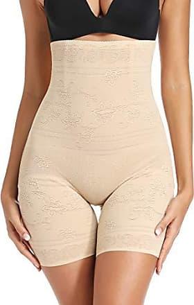 Damen Miederslip Figurformende Hohe Taille Strumpfhose Unterwäsche Miederpants