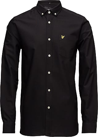 Lyle & Scott Oxford Shirt Skjorta Business Svart Lyle & Scott