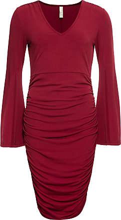 BODYFLIRT boutique Dam Festklänning i röd vingärmar - BODYFLIRT boutique 007b6bcc9bf55