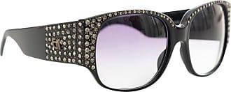 fb78887b5279 1stdibs Emmanuelle Khanh Black Diamanté Sunglasses