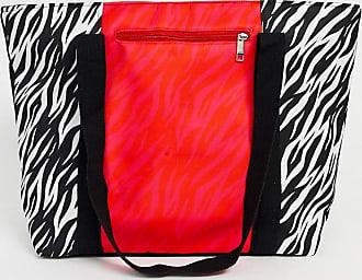 7X SVNX pink zebra tote bag-Multi