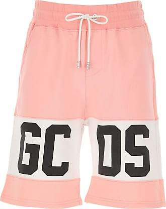 GCDS Shorts for Men On Sale, Pink, Cotton, 2019, XS (EU 44) S (EU 46) M (EU 48)