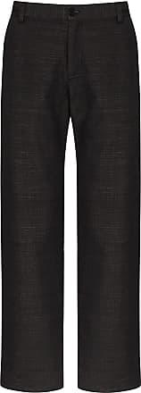 78Stitches Calça chino pantalona com recortes - Preto