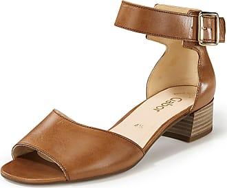 Gabor Sandals adjustable ankle straps Gabor brown