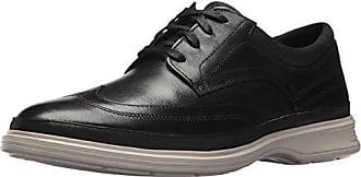 Rockport Mens Dressports 2 Lite Wingtip Shoe, black, 7 M US