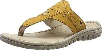 Josef Seibel Womens Lucia 09 Flip Flops, Yellow (Gelb 800), 9.5 UK (44 EU)
