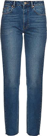 Raey Rail High-rise Straight-leg Jeans - Womens - Indigo