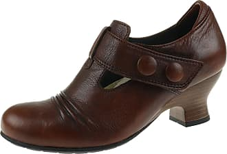Wolky Pump Prague 3712343 Womens Shoes Cognac Brown Size: 4 UK