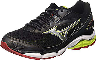 promo code 81afb ae798 Mizuno Wave Inspire, Chaussures de Running Homme, Multicolore  (Black Silver limepunch