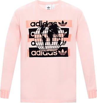 adidas Long-sleeved T-shirt Mens Pink