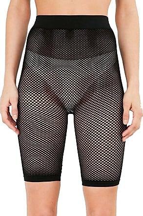 The Celebrity Fashion Womens Ladies Sporty Black Tights Fishnet Mesh Legging Cycling Shorts hot Pants Stockings
