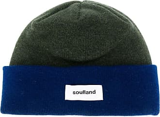 Soulland Gorro Villy color block - Verde