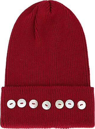 0711 Isola embellished beanie - Red