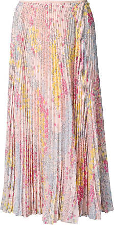 Red Valentino RED Valentino floral print pleated skirt - Pink