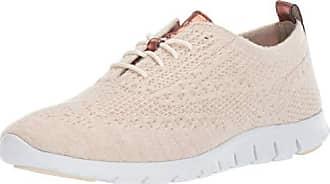 348eda3a64 Cole Haan Womens Zerogrand Stitchlite Wool Oxford, Shifting Sand Heathered,  8.5 B US