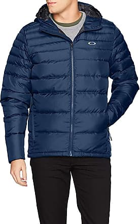 Oakley Mens Thermo Down Jacket Down Coat, Fathom, XL